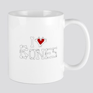 I Love Bones Mug