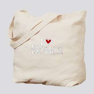 I Love Bones Tote Bag