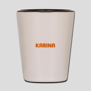 Karina in Movie Lights Shot Glass