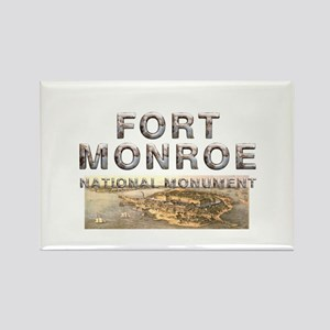 ABH Fort Monroe Rectangle Magnet