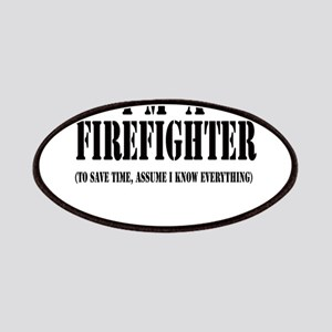 I'm A Firefighter-Light Patches