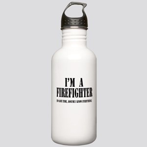 I'm A Firefighter-Light Stainless Water Bottle 1.0
