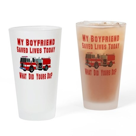 What Did Your Do? Boyfriend Drinking Glass