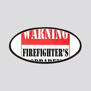Firefighter Warning-Godparent Patches