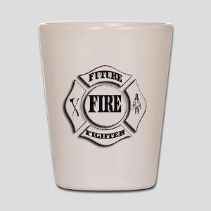 Future Firefighter- Maltese Shot Glass