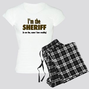 I'm the Sheriff Women's Light Pajamas