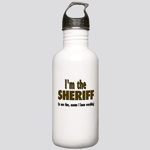 I'm the Sheriff Stainless Water Bottle 1.0L