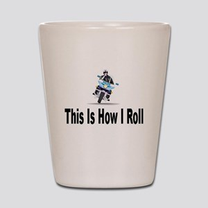 Police-How I Roll Shot Glass