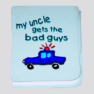 Gets the bad guys- uncle baby blanket