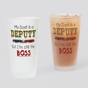 Dad is Deputy Drinking Glass