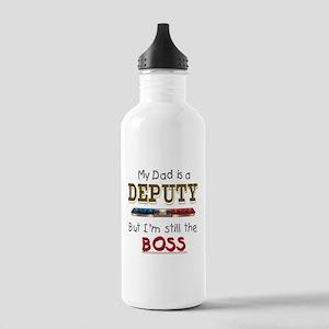 Dad is Deputy Stainless Water Bottle 1.0L