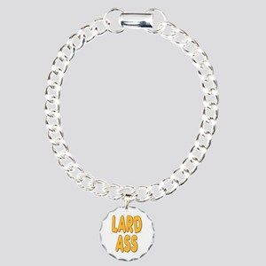 Lard Ass Charm Bracelet, One Charm