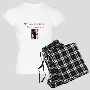 American Hero Grandpa Women's Light Pajamas