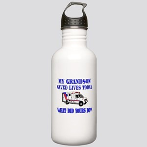 Saved Lives Ambulance-Grandso Stainless Water Bott