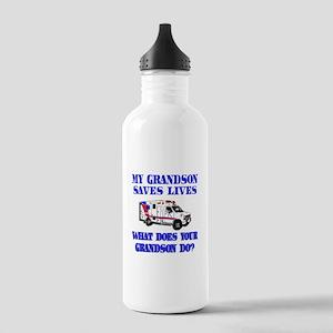Ambulance Saves Lives-Grandso Stainless Water Bott