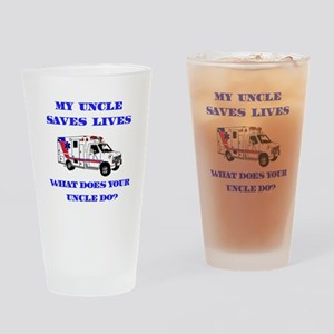 Ambulance Saves Lives-Uncle Drinking Glass