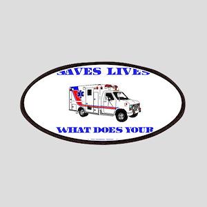 Ambulance Saves Lives-Grandpa Patches