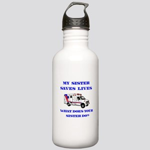 Ambulance Saves Lives-Sister Stainless Water Bottl