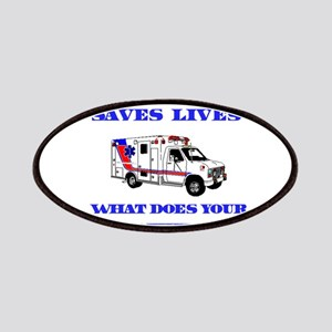 Ambulance Saves Lives-Brother Patches