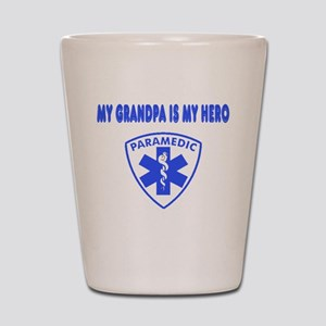 Paramedic Hero-Grandpa Shot Glass