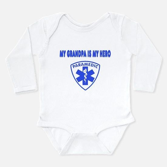 Paramedic Hero-Grandpa Long Sleeve Infant Bodysuit