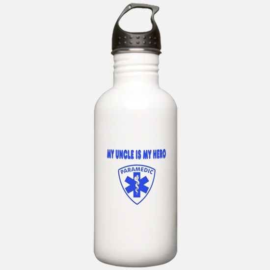 Paramedic Hero-Uncle Water Bottle