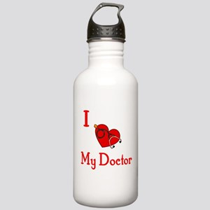 I Love My-Doctor Stainless Water Bottle 1.0L