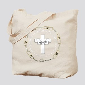 Fishers of Men- Silver Tote Bag