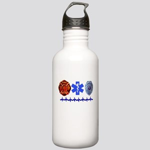 Superhero- Back Design Stainless Water Bottle 1.0L