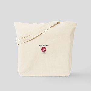 Red Maltese Tote Bag
