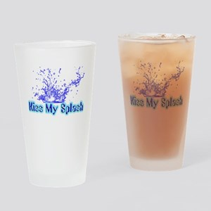 Kiss My Splash Drinking Glass