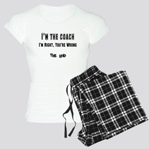 I'm the Coach, I'm Right Women's Light Pajamas