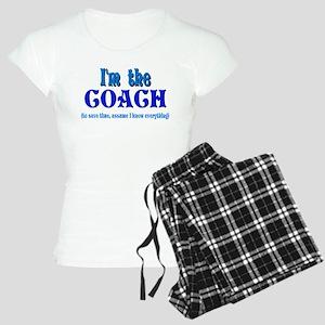 I'm the Coach -Blue Women's Light Pajamas