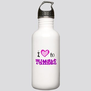 I Love to Tumble Stainless Water Bottle 1.0L