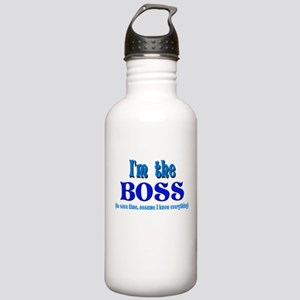 I'm the Boss- Blue Stainless Water Bottle 1.0L