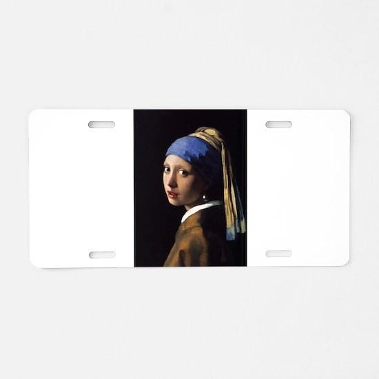 Artzsake Vermeer Aluminum License Plate