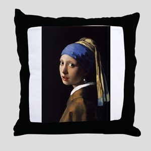 Artzsake Vermeer Throw Pillow