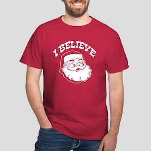 I Believe Santa Dark T-Shirt