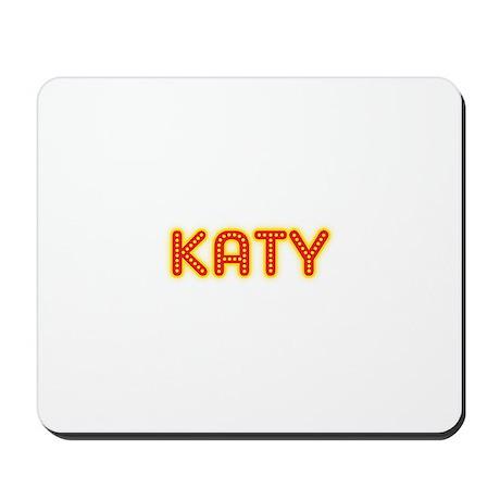 Katy in Movie Lights Mousepad