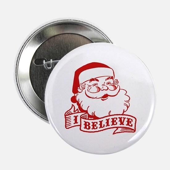 "I Believe Santa 2.25"" Button"