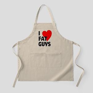 I Love Fat Guys Apron
