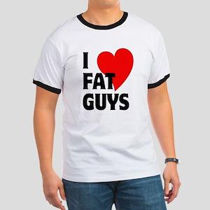 I Love Fat Guys Ringer T