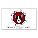 DallasBTS Epicenter Rectangle Sticker