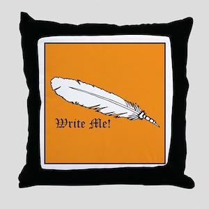 Write Me! Throw Pillow