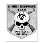 Zombie Response Team: Portland Small Poster