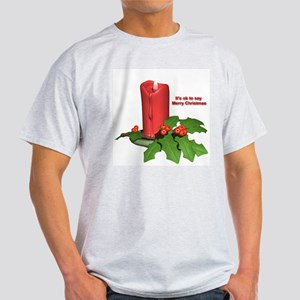 Christmas Candle Light T-Shirt