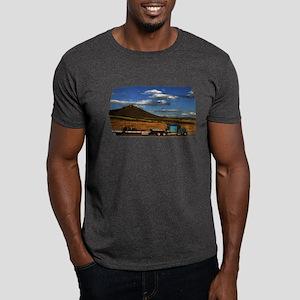 Shasta I-5 Trucking Dark T-Shirt