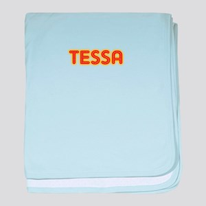 Tessa in Movie Lights baby blanket