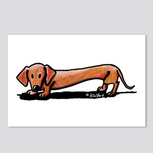 Lil' Red Dachsie Postcards (Package of 8)