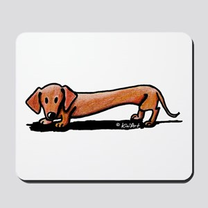Lil' Red Dachsie Mousepad